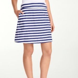 TOMMY BAHAMA Sirena navy and white striped skirt